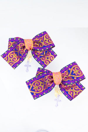 XTS China Ribbon Hair Clip Set 16 - YOU ARE MY POISON