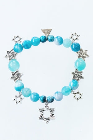 XTS Hexagram Mode Bracelet (Blue) - YOU ARE MY POISON