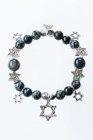 XTS Hexagram Mode Bracelet (Black) - YOU ARE MY POISON