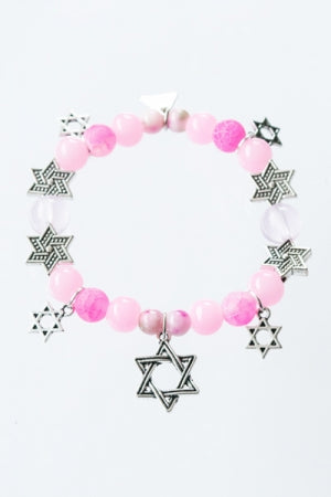 XTS Hexagram Mode Bracelet (Pink) - YOU ARE MY POISON
