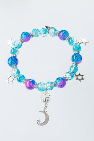 XTS Starry Night Bracelet (Pink&Blue) - YOU ARE MY POISON