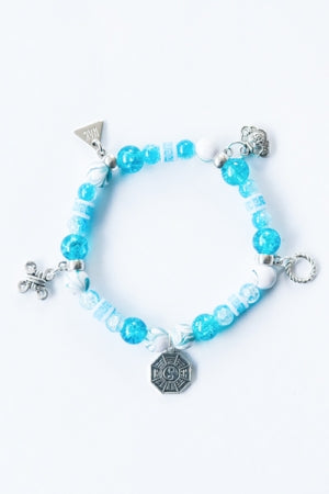 XTS China Fretwork Bracelet (Blue) - YOU ARE MY POISON