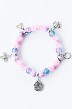 XTS China Fretwork Bracelet (Pink) - YOU ARE MY POISON