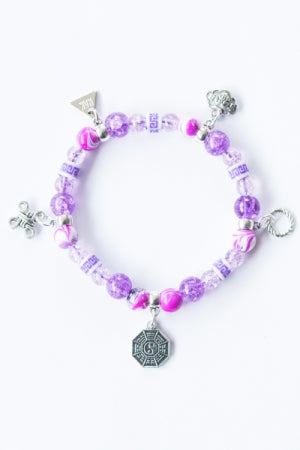 XTS China Fretwork Bracelet (Purple) - YOU ARE MY POISON
