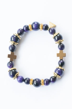 XTS Centered Bracelet (Purple) - YOU ARE MY POISON