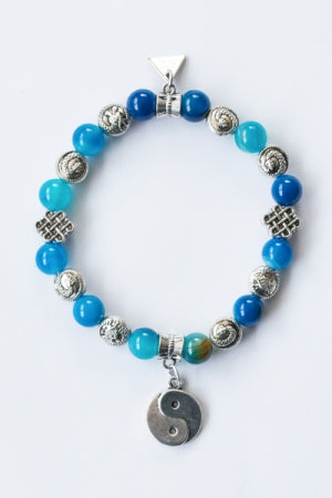 XTS Super China Yin And Yang Bracelet (Blue) - YOU ARE MY POISON