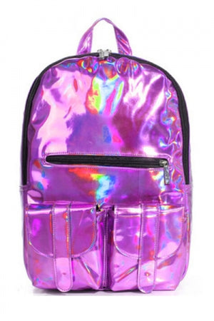 Pink Hologram Backpack - YOU ARE MY POISON