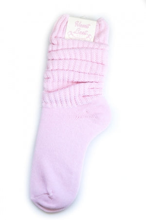 Color Loose Sock (Pink)