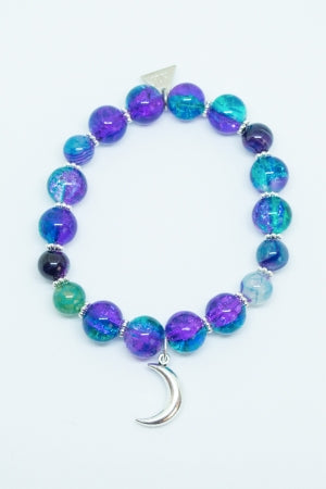 XTS Moon Fantasy Night Bracelet (Purple Green) - YOU ARE MY POISON