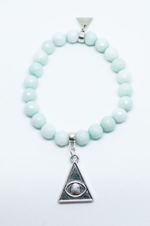 XTS Pyramid Bracelet (Light Blue) - YOU ARE MY POISON