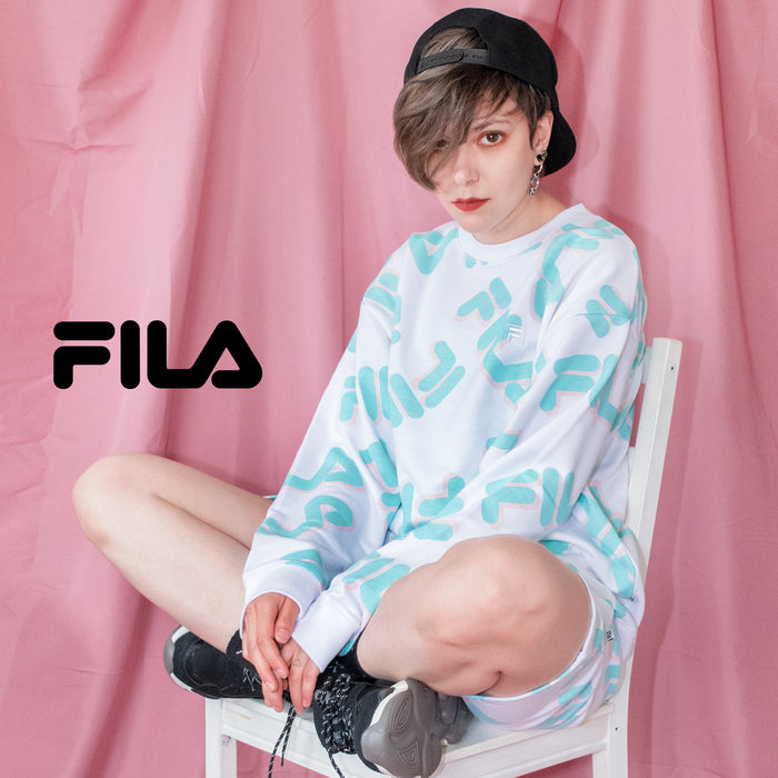 FILA Total Pattern Crew Sweatshirt FM5644 (2 color)