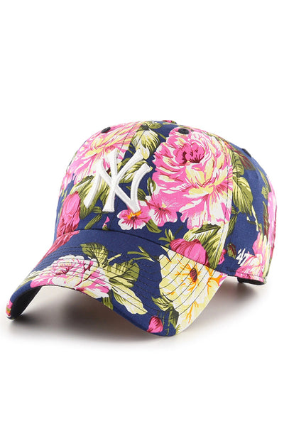 47 Brand Yankees Rose Man CLEAN UP Cap