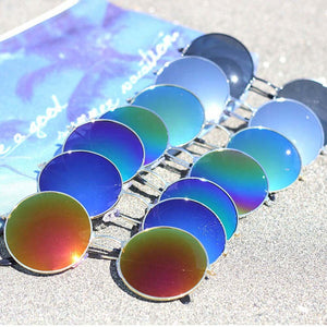 Round Lens Sunglass (4 color)