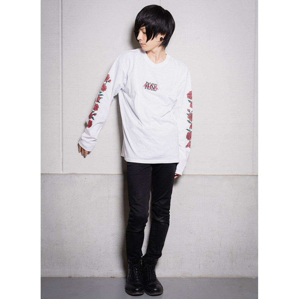 Rose Sleeve Mens L/S Top (3 color)