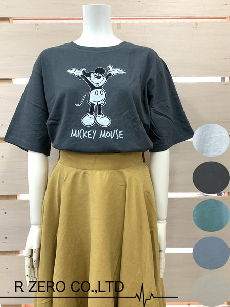 Disney MICKEY S/S T-shirt (Charcoal)