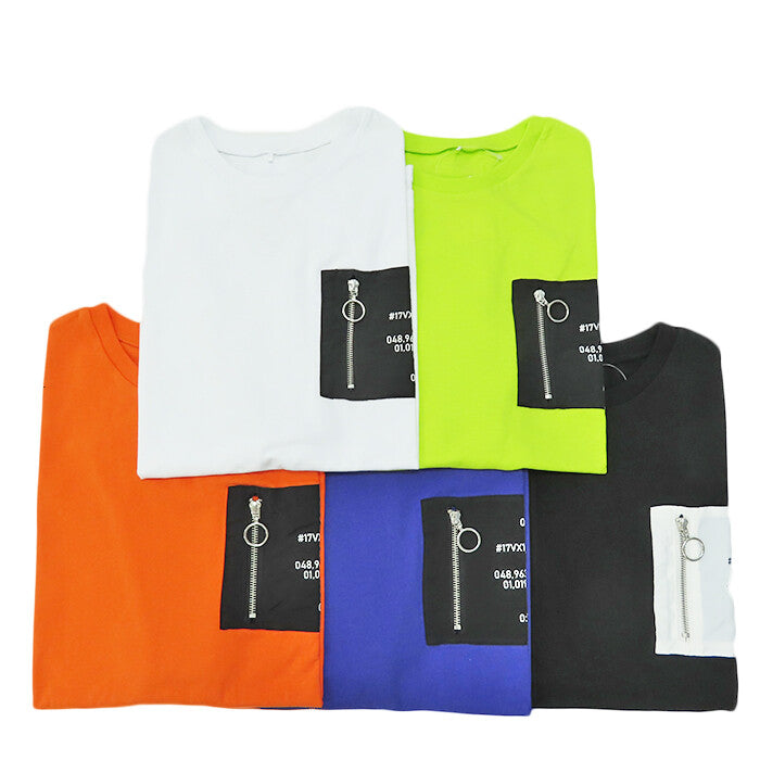 Nylon Pocket S/S T-shirt (5 color)
