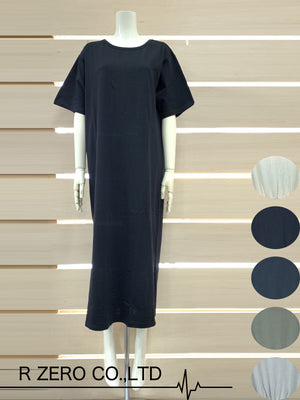 Back Twist S/S Dress (Black)