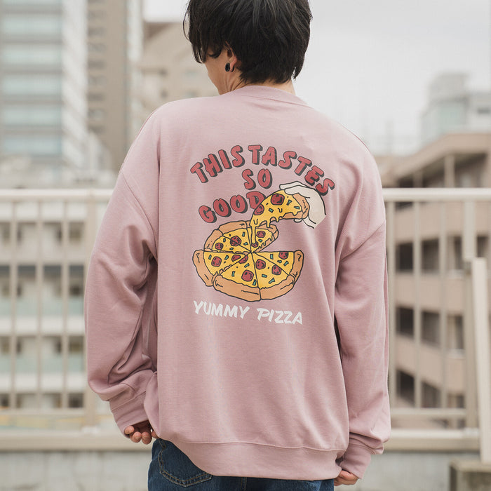 Pizza Printed Sweatshirt (2 color)