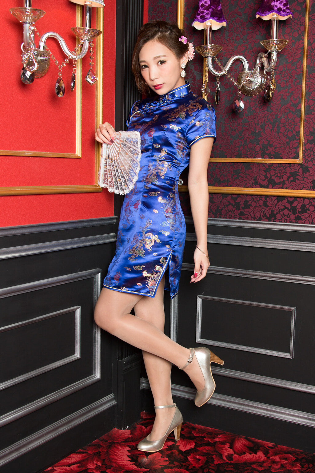 China Mini Dress (4 color)