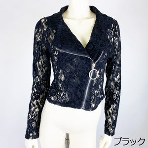 Lace Riders Jacket (Black)