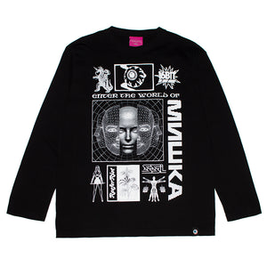 MISHKA PARALLEL WORLDS L/S T-shirt (2 color)