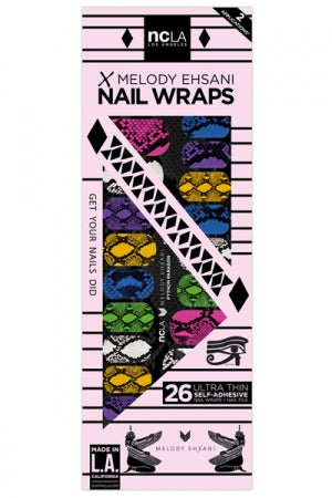 ncLA NAIL WRAPS PYTHON PARAGON - YOU ARE MY POISON