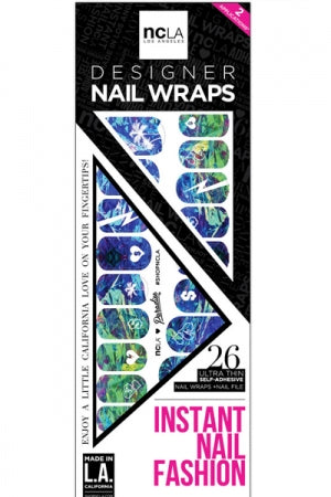 ncLA NAIL WRAPS PARADISE - YOU ARE MY POISON