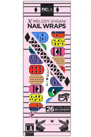 ncLA NAIL WRAPS REALEYES - YOU ARE MY POISON