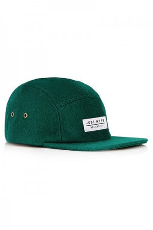 hype. Wool 5-Panel Snapback Cap Green - YOU ARE MY POISON