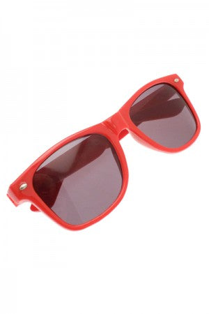 hype. Wayfarers Sunglasses Red - YOU ARE MY POISON