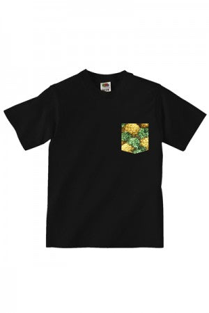 Lovebite Clothing Pocket Tee Pineapple BLK - YOU ARE MY POISON