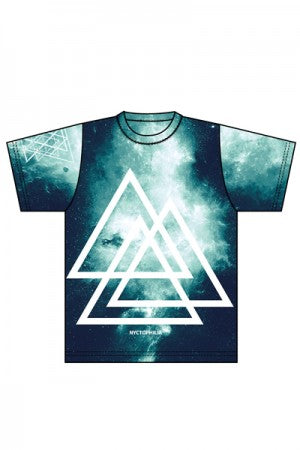 Nyctophilia Triangle Green T-shirt - YOU ARE MY POISON