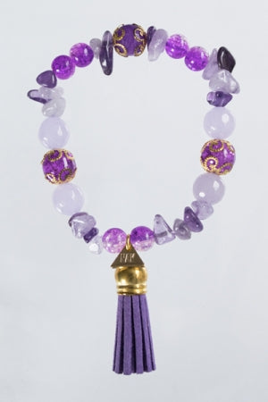 XTS Purple Jellyfish Bracelet - YOU ARE MY POISON