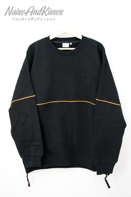 FILA HERITAGE Crew Neck Shirt FM9686 (Black)