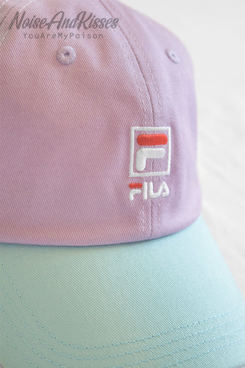 FILA TWO COLOR CAP (Pastel Purple)