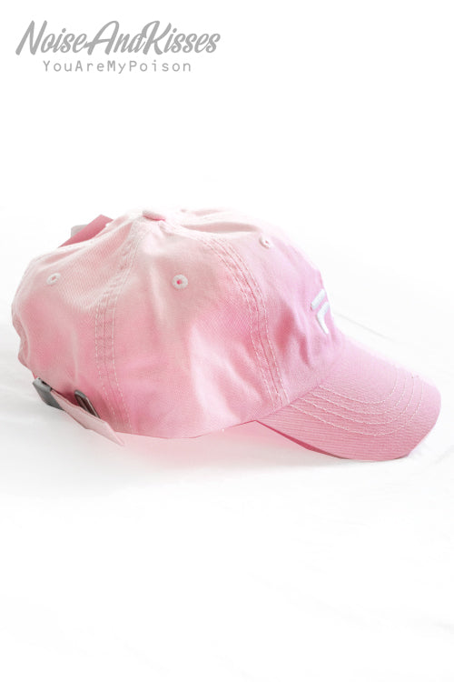 FILA LINEAR LOGO LOW CAP (Pink)