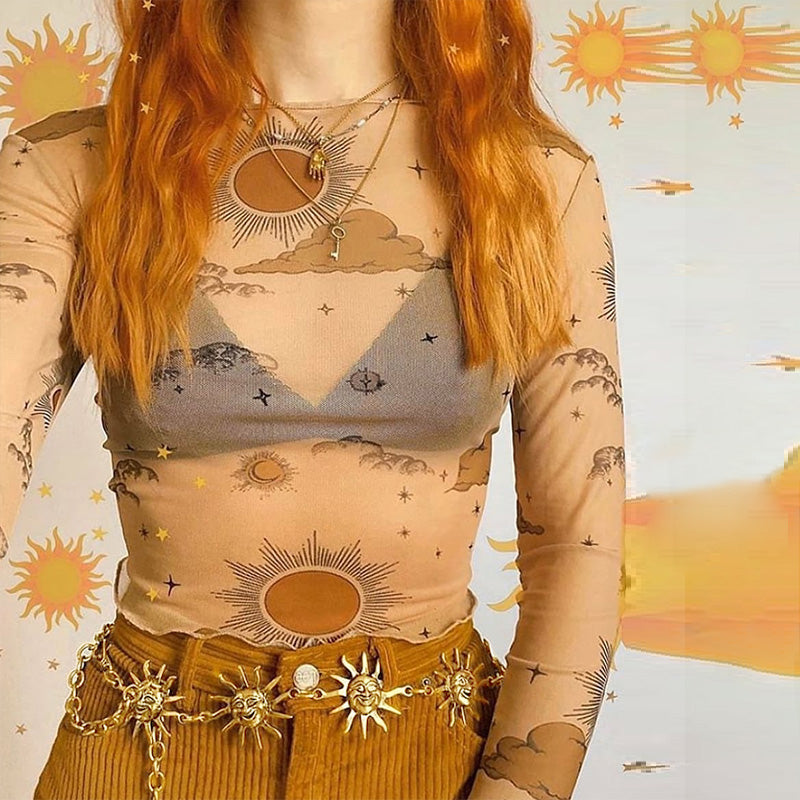 Sun Chain Belt (2 color)