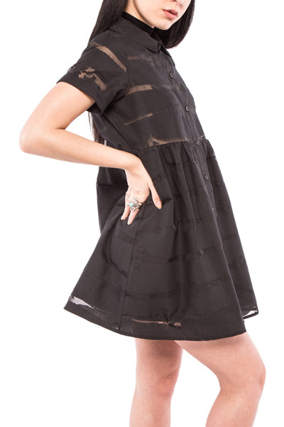 Bone Me Babydoll Dress - YOU ARE MY POISON