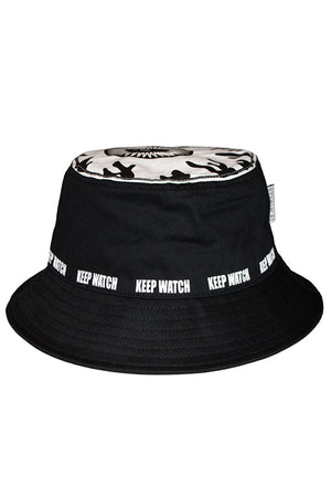 MISHKA KEEP WATCH BUCKET HAT (BLACK)