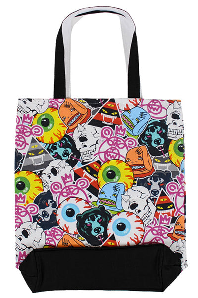 MISHKA LOGO COLLAGE TOTE BAG