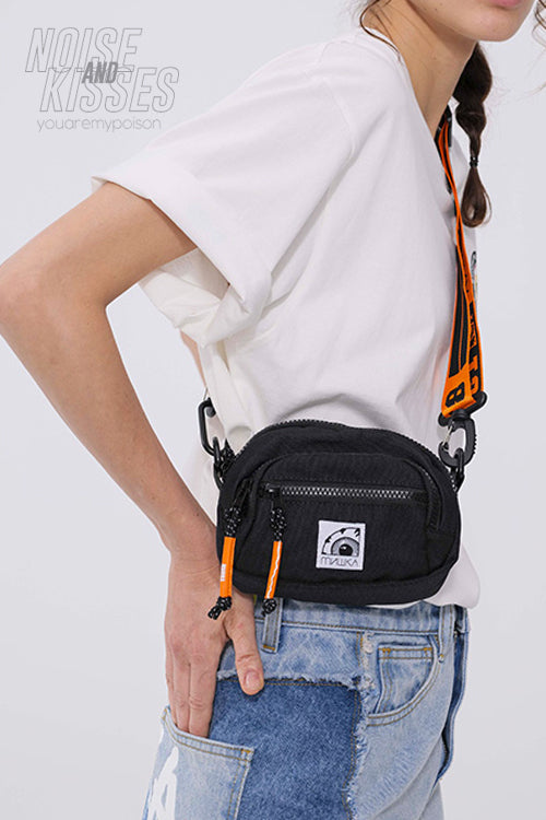 MISHKA MINI SHOULDER-BAG (MSS203101) (Black)
