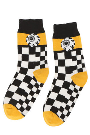 MISHKA Crew Socks (Black) MAW193308