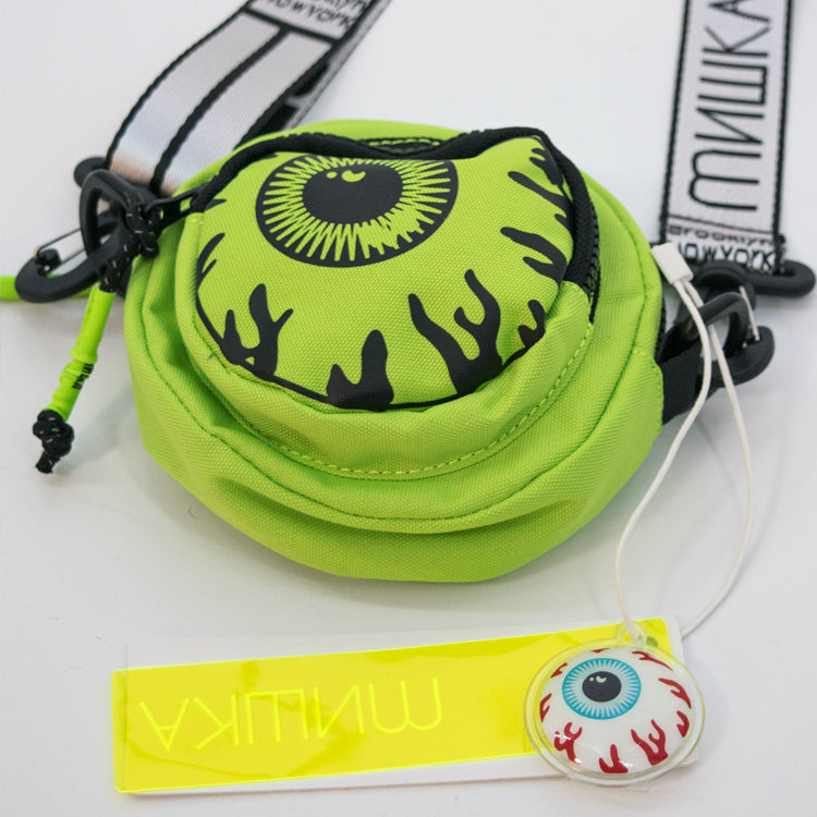 MISHKA CIRCLE SHOULDER BAG (MSS203103) (Green)