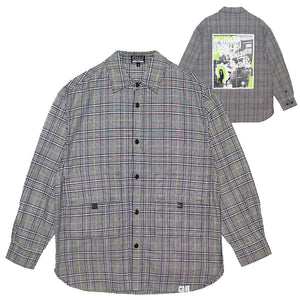 MISHKA GLEN CHECK OVER SHIRT