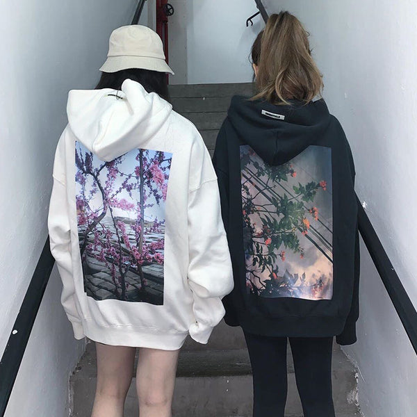 Back Photo Hoodie (2 color)