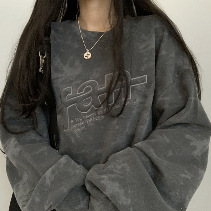 Logo Tie-Dye Sweatshirt (3 color)