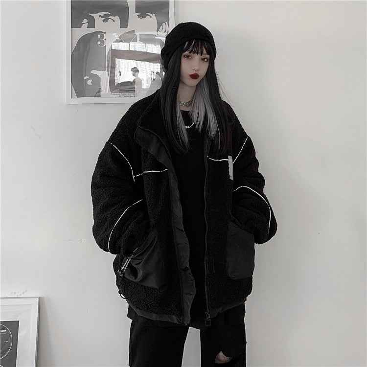 Reflector Line Boa Jacket (Black)