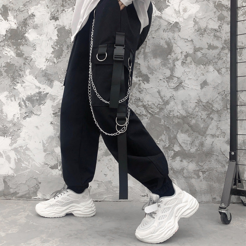 Side Belt Cargo Pants (2 color)