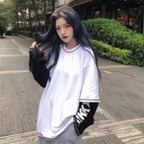 Fake Layered L/S Top (2 color)