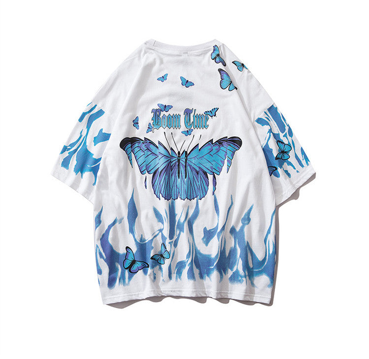 Butterfly Fire S/S T-shirt (2 color)
